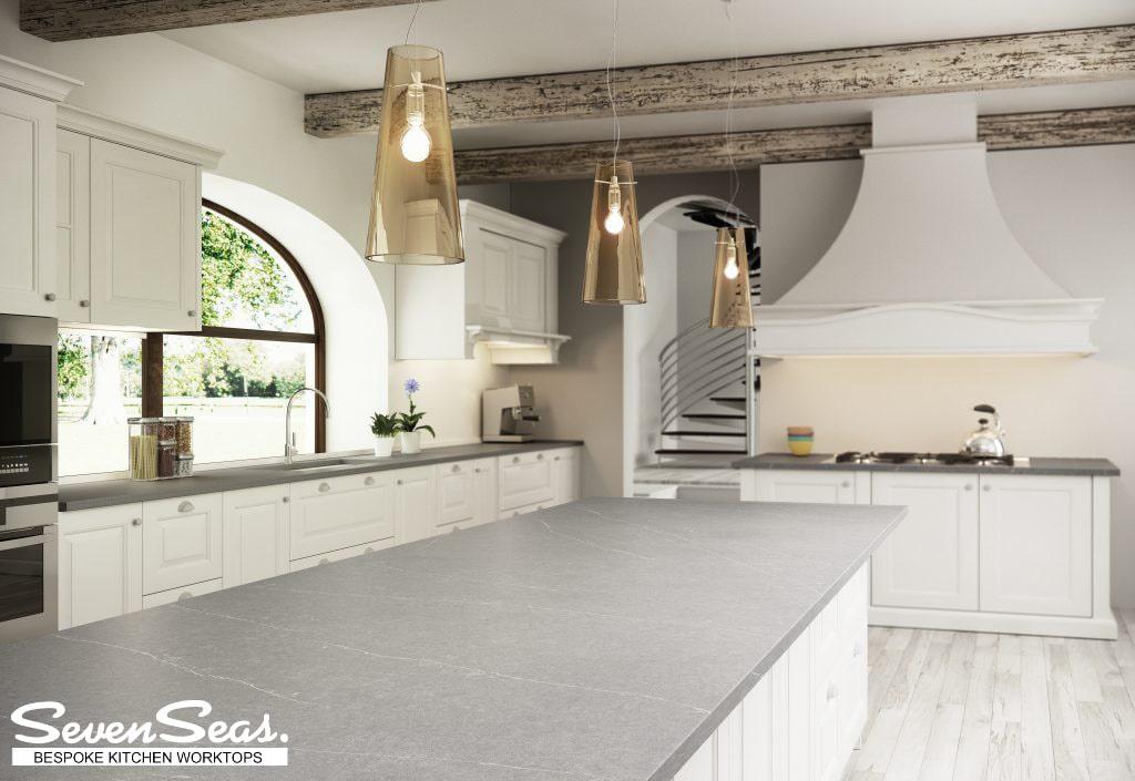 Summer Kitchen Trends - Seven Seas Marble